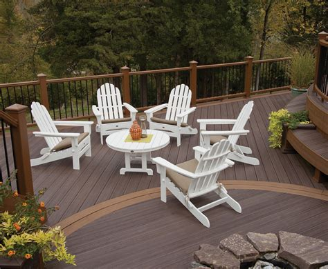 Cape Cod Classic White Folding Patio Adirondack Chair Patio Furniture Cape Cod