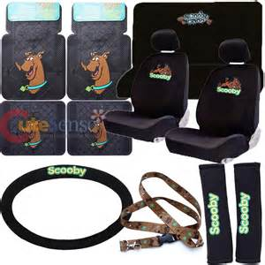scooby doo car seat covers auto accessories set with floor
