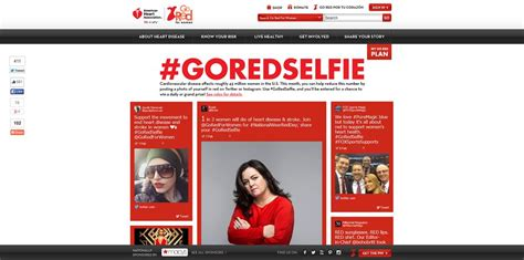 go red for women goredselfie sweepstakes - Sweepstakes For Women
