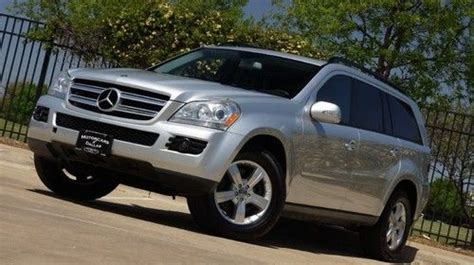 how to fix cars 2007 mercedes benz g class transmission control find used 2007 mercedes gl 450 navigation sunroof tow package rear a c awd 3rd seats in