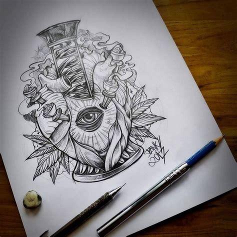 25 best ideas about marijuana tattoo on pinterest