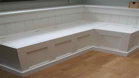 how to make a kitchen banquette seating with storage how to build a banquette storage