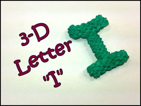 Loom Letter M by 26 Best Diy Rainbow Loom 3d Alphabet Images On