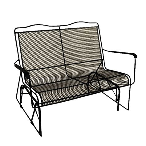 wrought iron patio sofa furniture rocker wrought iron outdoor patio porch new