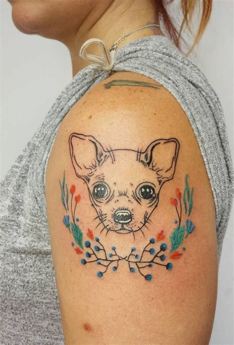 chihuahua tattoo best 25 chihuahua ideas on