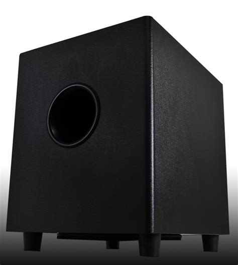 8 inch home theater subwoofer osd p8