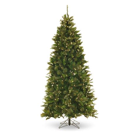 fake christmas trees holiday time prelit 75u0027 green
