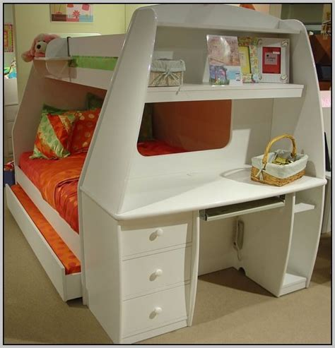 desk bunk bed combo papillon designer bunk bed and desk