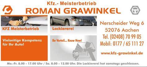 Kfz Lackierer Aachen by Kfz Grawinkel Home