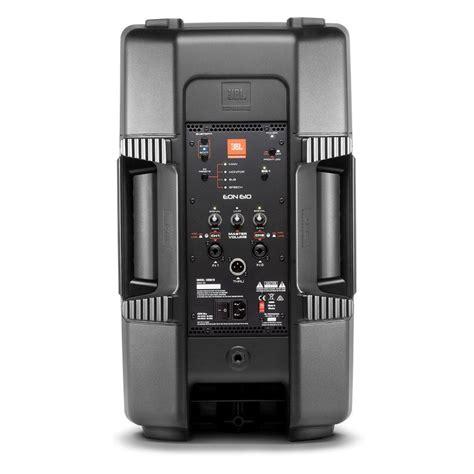 Speaker Jbl 10 jbl eon610 10 active pa speaker with bluetooth at gear4music