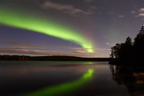 Finland Northern Lights by The Northern Lights Already Arrived In Finland
