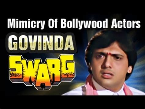 actor govinda mp3 song download mimicry of various bollywood actors done by govinda