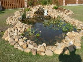 front yard pond ideas landscaping gardening ideas