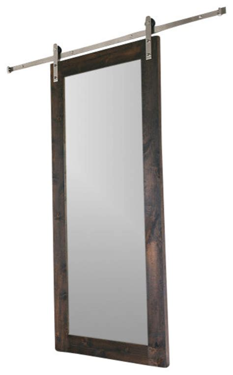 mirrored doors interior modern mirror barn door modern interior doors by