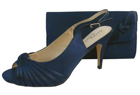 Navy Wedding Shoes by Navy Wedding Shoes And Matching Bag