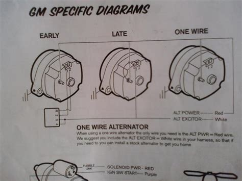 alternator wiring diagram chevy 91 chevy alternator wiring diagram