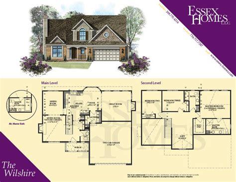 wilshire homes floor plans wilshire homes oxford floor plan