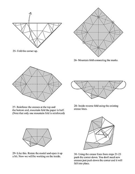 Origami Puzzle Box - hints diagrams a gallery on flickr