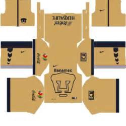 Pumas kit dream league soccer 2016