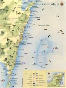 Costa Maya Mexico Map by Mexico Map Costa Maya Cruise 2013 Pinterest Maya