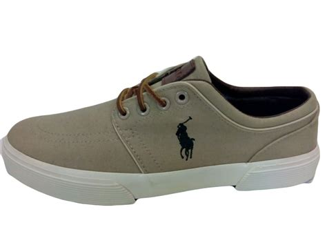 polo ralph shoes s faxon low canvas sneaker