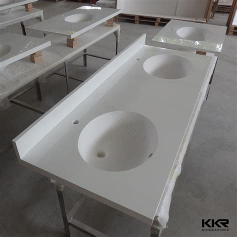 custom made bathroom vanity tops custom made solid surface double sink bathroom vanity top