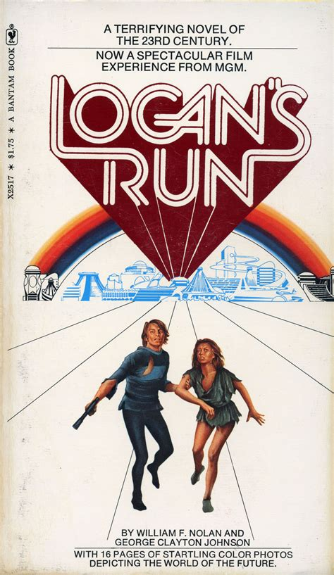 you can run a novel books logan s run book review a lost science fiction classic