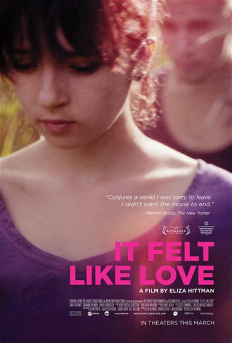 film love poster it felt like love movie review 2014 roger ebert