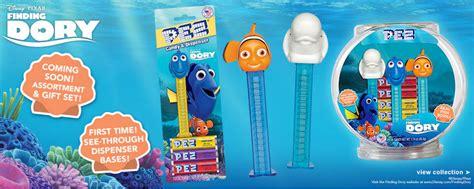Permen Pez Dispenser Nemo Set pez palz friends of pez finding dory pez usa release