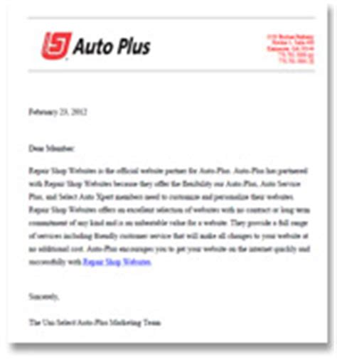 Business Introduction Letter For Auto Repair Shop Repair Shop Websites Automotive Dealer Site Exles