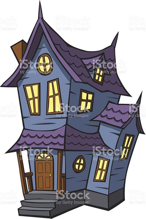 haunted house cartoon cartoon haunted house stock vector art more images of cartoon 148772024 istock
