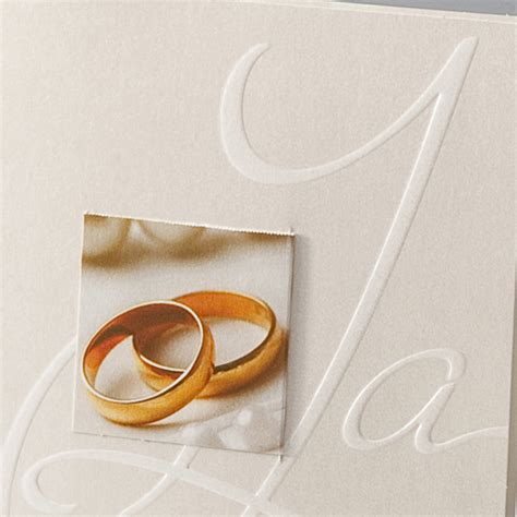 Motive Hochzeitseinladungen by Hochzeitskarte Ba722069 Trauringe Hochzeitsmotive