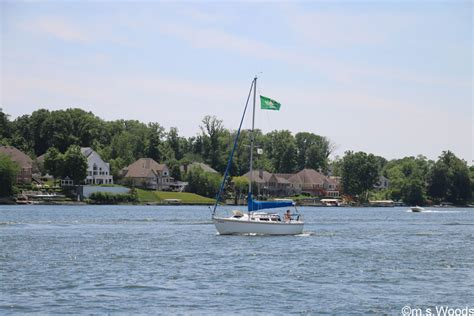 sailboat on lake geist lake homes for sale m s woods