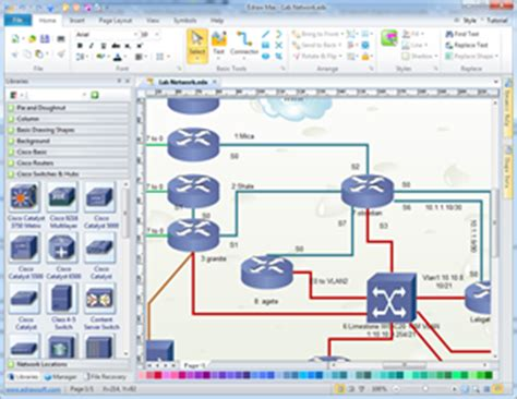 cisco network layout software cisco network diagram network diagram solutions