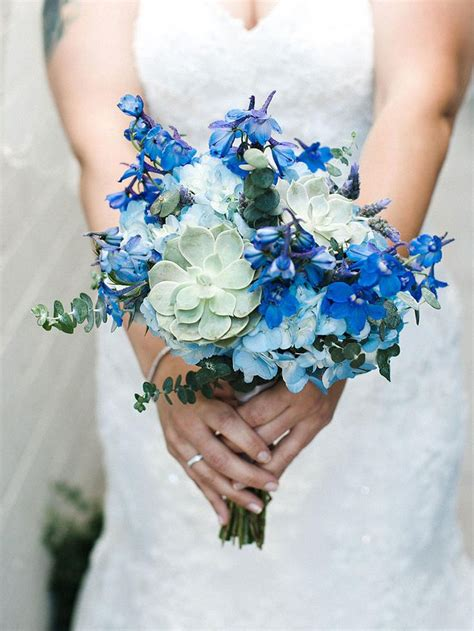 Blue Flower Wedding Bouquet by 2222 Best Images About Wedding Bouquets On
