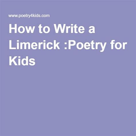 writing a limerick template 1000 ideas about poetry for on poetry