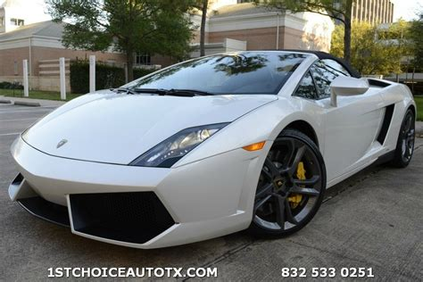 Lamborghini Houston For Sale Lamborghini Cars In Houston Tx For Sale 24 Used Cars From
