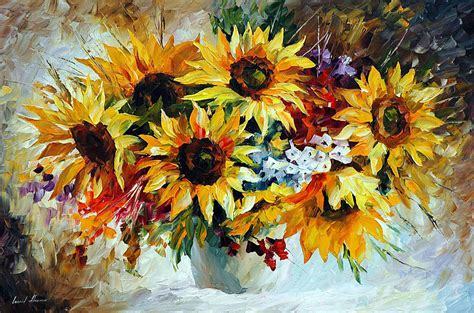 manufacturer famous sunflower painting famous sunflower sunflowers 2 palette knife oil painting on canvas by
