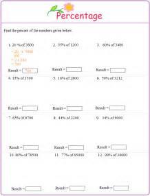 percent worksheet pdf davezan