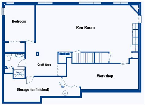 How To Design A Basement Floor Plan | basement floor plans on pinterest castle house plans
