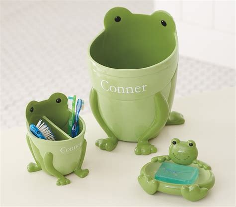 Frog Holder Bathtub by Frog Bathroom Accessories Pottery Barn
