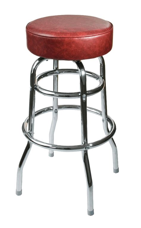 Wine Black Stool by Ring Chrome Barstool With Black Or Wine Seat Bar Restaurant Furniture Tables
