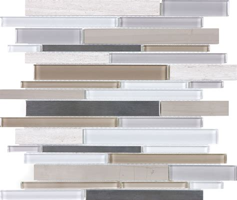 anatolia tile mist blend glass mosaic wall tile specialty tile products anatolia bliss mixed mosaic