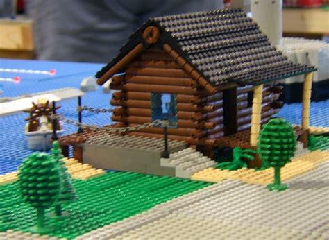 lego log cabin lego log house architectural designs