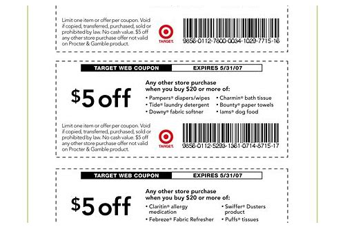coupon code target july 2018