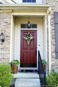Colors For Front Doors For Houses This Front Door Color Martha Stewart Home Depot Chocolate Cosmos Books Worth Reading