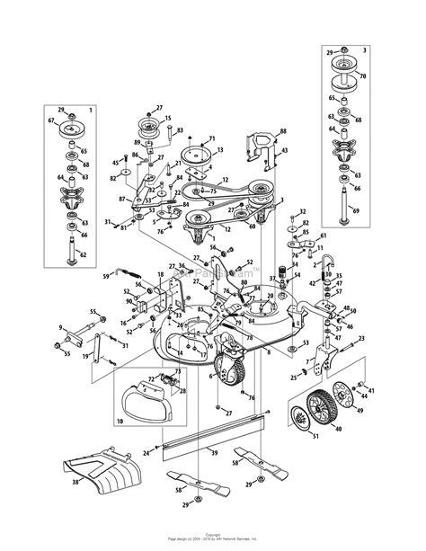troy bilt pony wiring diagram 13wn77ks011 klipsch promedia