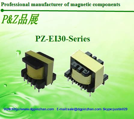 transformer tight coupling pz ei30 series high frequency transformer