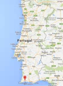 alvor on map of portugal world easy guides