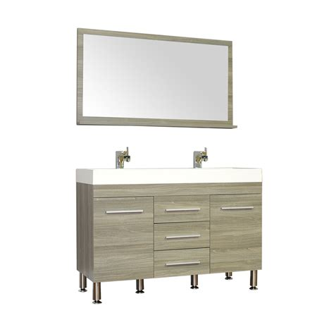 alyaat8048g 48quot double modern bathroom vanity grey